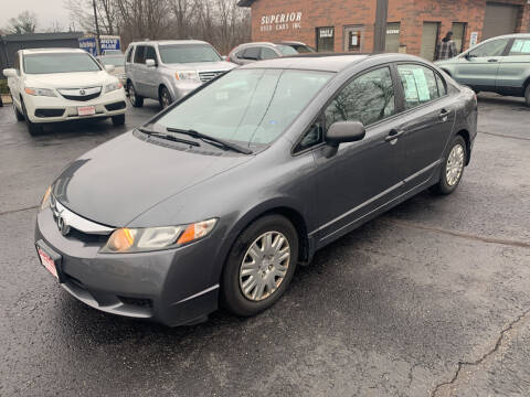 2009 Honda Civic for sale at Superior Used Cars Inc in Cuyahoga Falls OH