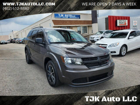 2017 Dodge Journey for sale at TJK Auto LLC in Omaha NE