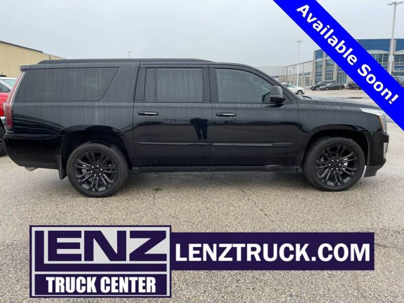 2019 Cadillac Escalade ESV for sale at LENZ TRUCK CENTER in Fond Du Lac WI