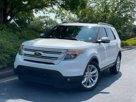 2014 Ford Explorer for sale at William D Auto Sales in Norcross GA