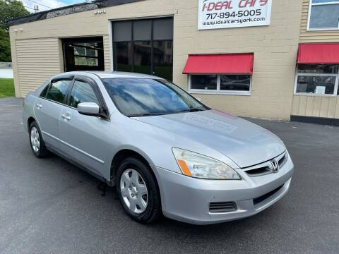2007 Honda Accord for sale at I-Deal Cars LLC in York PA