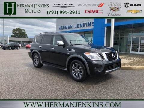 2019 Nissan Armada for sale at Herman Jenkins Used Cars in Union City TN