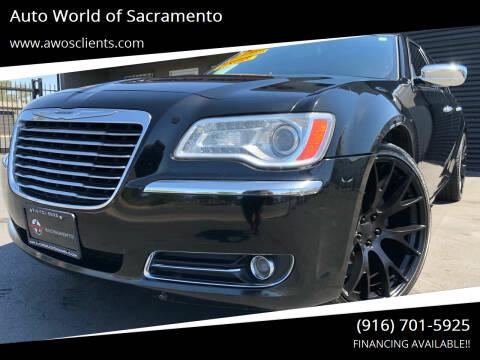 2012 Chrysler 300 for sale at Auto World of Sacramento Stockton Blvd in Sacramento CA