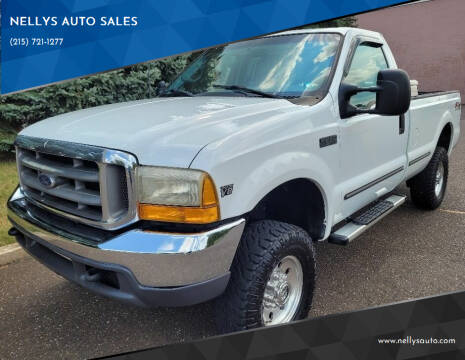 1999 Ford F-250 Super Duty for sale at NELLYS AUTO SALES in Souderton PA