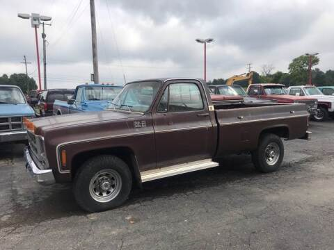 1979 GMC C/K 3500 Series for sale at FIREBALL MOTORS LLC in Lowellville OH