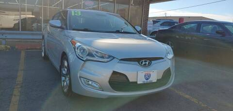 2013 Hyundai Veloster for sale at I-80 Auto Sales in Hazel Crest IL