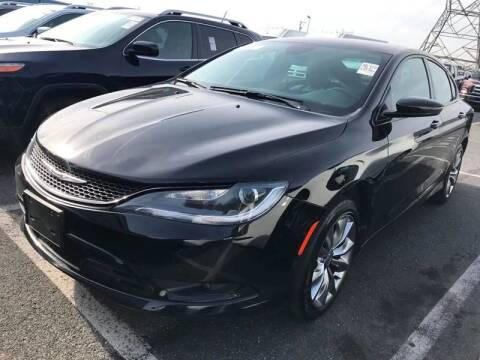 2015 Chrysler 200 for sale at SILVER ARROW AUTO SALES CORPORATION in Newark NJ
