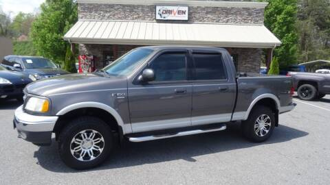 2003 Ford F-150 for sale at Driven Pre-Owned in Lenoir NC