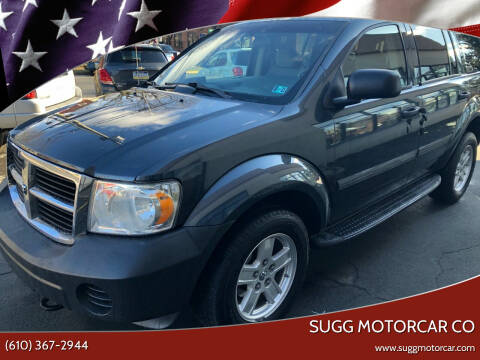 2008 Dodge Durango for sale at Sugg Motorcar Co in Boyertown PA