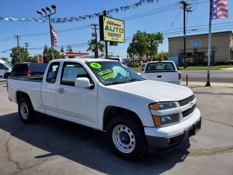 2012 Chevrolet Colorado for sale at HILMAR AUTO DEPOT INC. in Hilmar CA