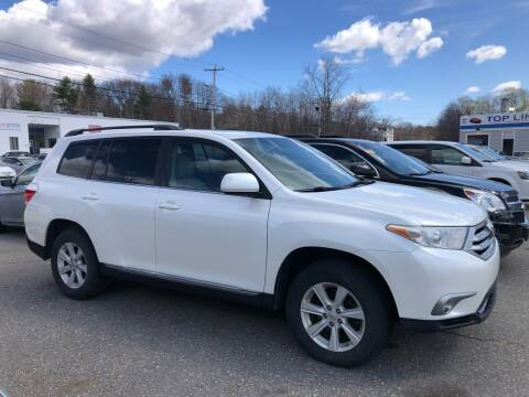 2013 Toyota Highlander for sale at Top Line Import of Methuen in Methuen MA