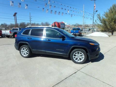 2018 Jeep Cherokee for sale at BLACKWELL MOTORS INC in Farmington MO