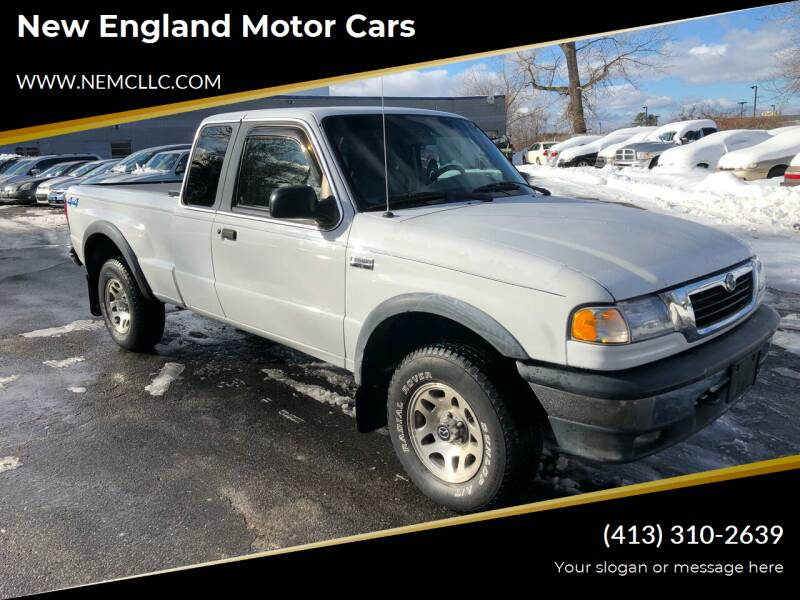 2000 Mazda B-Series Pickup for sale at New England Motor Cars in Springfield MA