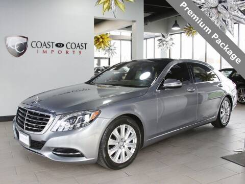 2014 Mercedes-Benz S-Class for sale at Coast to Coast Imports in Fishers IN