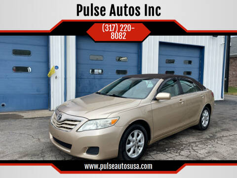2011 Toyota Camry for sale at Pulse Autos Inc in Indianapolis IN