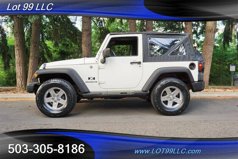 2008 Jeep Wrangler for sale at LOT 99 LLC in Milwaukie OR