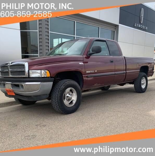 2001 Dodge Ram Pickup 1500 for sale at Philip Motor Inc in Philip SD