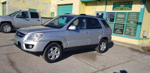 2009 Kia Sportage for sale at Stewart Auto Sales Inc in Central City NE