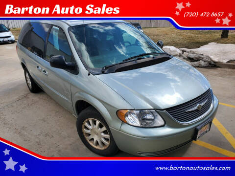2003 Chrysler Town and Country for sale at Barton Auto Sales in Frederick CO