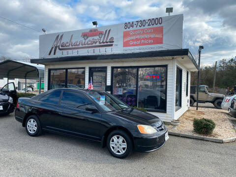 2003 Honda Civic for sale at Mechanicsville Auto Sales in Mechanicsville VA