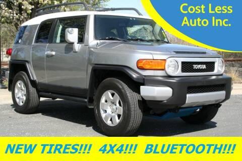 2010 Toyota FJ Cruiser for sale at Cost Less Auto Inc. in Rocklin CA