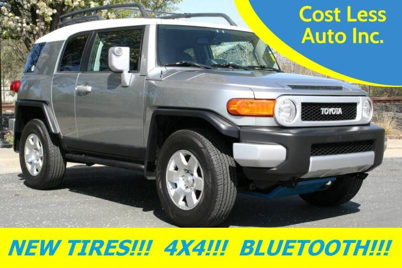 2010 Toyota FJ Cruiser for sale at Cost Less Auto Inc. in Rocklin CA