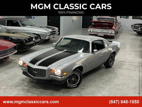 1971 Chevrolet Camaro for sale at MGM CLASSIC CARS in Addison IL