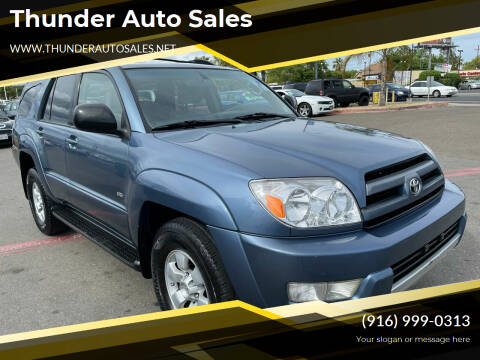 2004 Toyota 4Runner for sale at Thunder Auto Sales in Sacramento CA