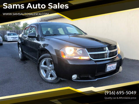 2008 Dodge Avenger for sale at Sams Auto Sales in North Highlands CA