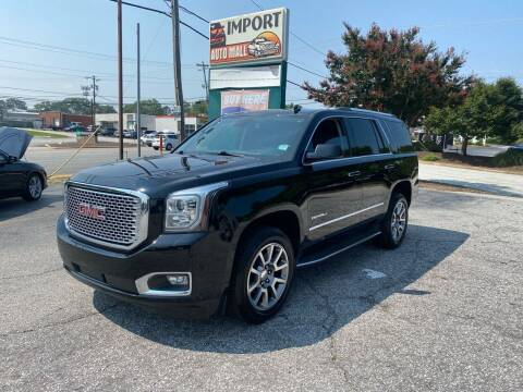 2015 GMC Yukon for sale at Import Auto Mall in Greenville SC