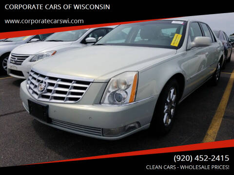 2010 Cadillac DTS for sale at CORPORATE CARS OF WISCONSIN in Sheboygan WI