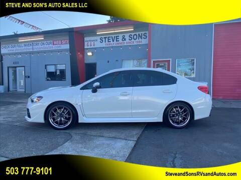 2016 Subaru WRX for sale at Steve & Sons Auto Sales in Happy Valley OR
