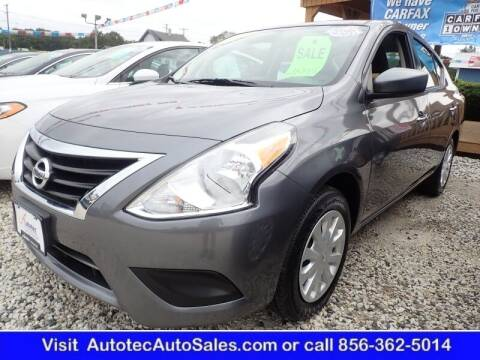 2019 Nissan Versa for sale at Autotec Auto Sales in Vineland NJ