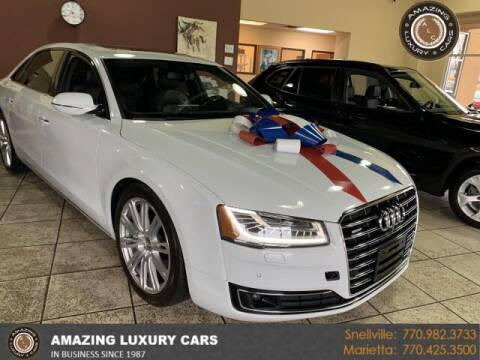 2015 Audi A8 L for sale at Amazing Luxury Cars in Snellville GA