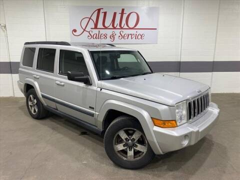 2008 Jeep Commander for sale at Auto Sales & Service Wholesale in Indianapolis IN