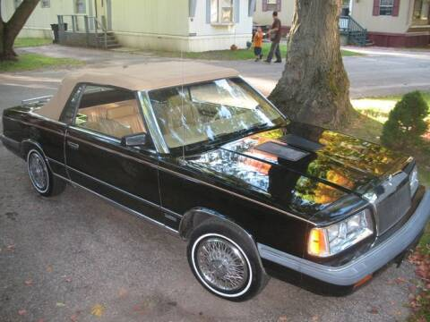 1986 Chrysler Le Baron for sale at Haggle Me Classics in Hobart IN