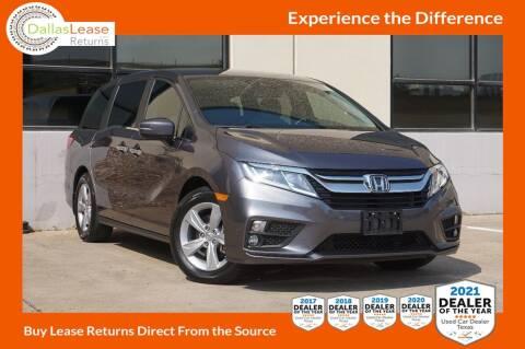 2020 Honda Odyssey for sale at Dallas Auto Finance in Dallas TX