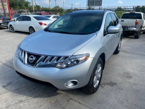 2009 Nissan Murano for sale at Sam's Auto Sales in Houston TX