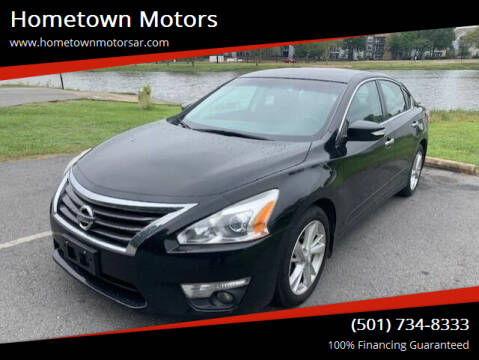 2013 Nissan Altima for sale at Hometown Motors in Maumelle AR