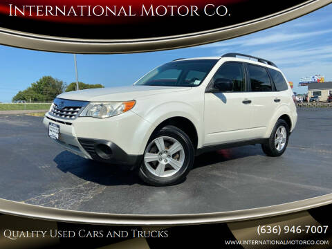 2011 Subaru Forester for sale at International Motor Co. in St. Charles MO