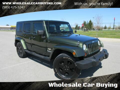 2009 Jeep Wrangler Unlimited for sale at Wholesale Car Buying in Saginaw MI