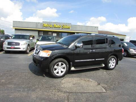 2012 Nissan Armada for sale at MIRA AUTO SALES in Cincinnati OH