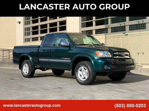 2003 Toyota Tundra for sale at LANCASTER AUTO GROUP in Portland OR
