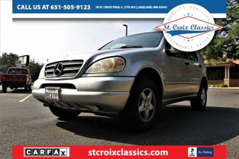 2001 Mercedes-Benz M-Class for sale at St. Croix Classics in Lakeland MN