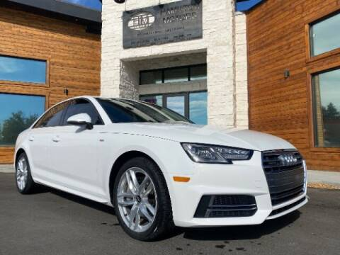 2017 Audi A4 for sale at Hamilton Motors in Lehi UT