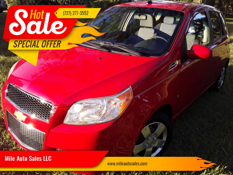 2009 Chevrolet Aveo for sale at Mile Auto Sales LLC in Holiday FL