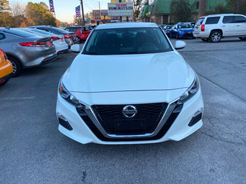 2019 Nissan Altima for sale at J Franklin Auto Sales in Macon GA
