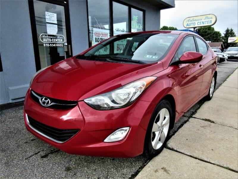 2013 Hyundai Elantra for sale at New Concept Auto Exchange in Glenolden PA
