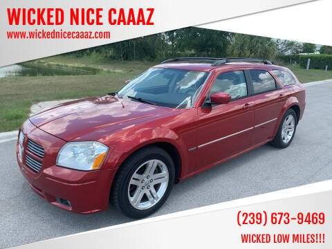 2007 Dodge Magnum for sale at WICKED NICE CAAAZ in Cape Coral FL