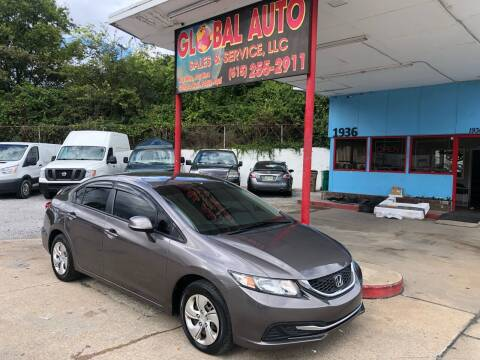 2013 Honda Civic for sale at Global Auto Sales and Service in Nashville TN